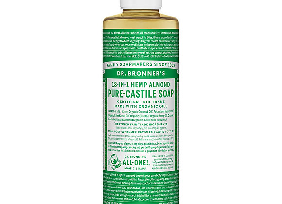 Castille Soap, Almond 8oz