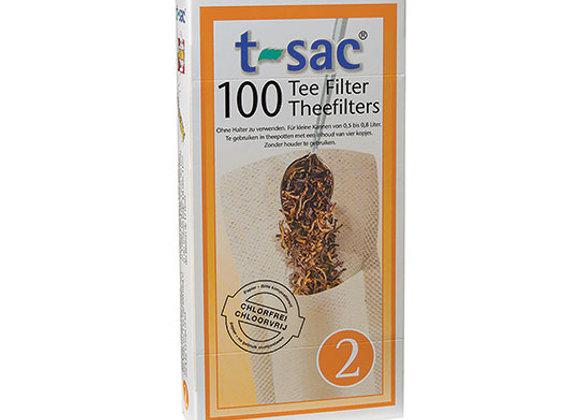 T-Sac #2 Tea Filters 100ct