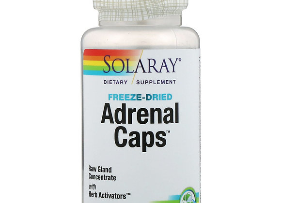 Adrenal Caps, Freeze-dried, 60ct