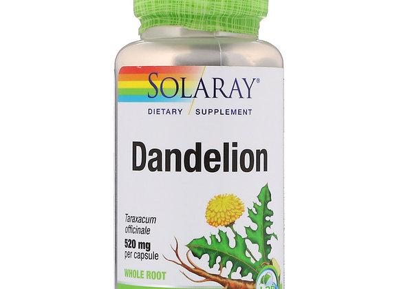 Dandelion 520mg, 100ct