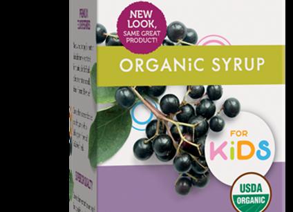 Elderberry Syrup, Organic KIDS 4oz