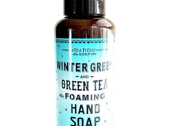 Wintergreen & Green Tea Foaming Hand Soap