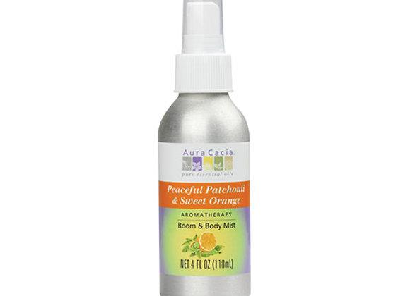 Patchouli & Orange Spray, 4oz