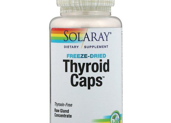 Thyroid Caps, Freeze-dried, 60ct