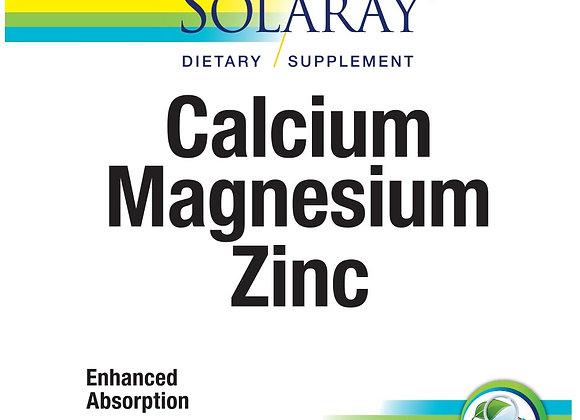 Calcium, Magnesium, Zinc 100ct