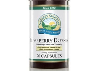 Elderberry D3fense (90 caps)