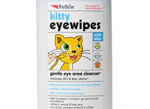 Kitty Eye Wipes, 40 count