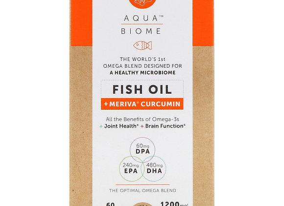 AquaBiome Fish Oil Meriva Curcumin 60ct