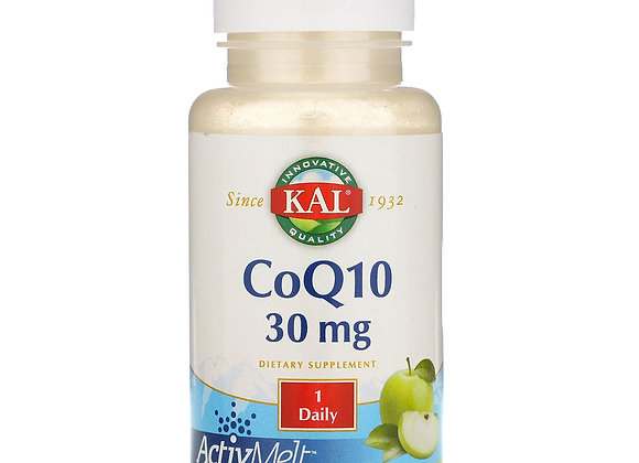 CoQ10 30mg, Green Apple, 90ct