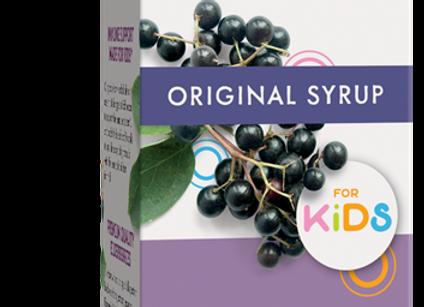 Elderberry Syrup, Original KIDS, 4oz
