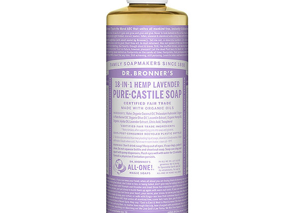 Castille Soap, Lavender 8oz