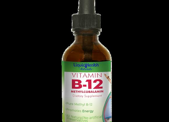 Vitamin B-12 Drops, 2oz