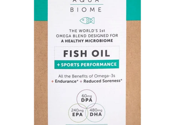 AquaBiome Fish Oil for Sports 60ct