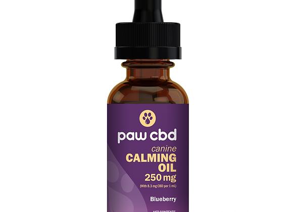 CBD Dog Calming Oil 250mg Blueberry
