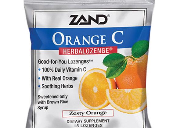 Vitamin C Lozenges Orange 15ct