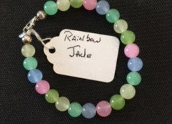 Rainbow Jade Bracelet
