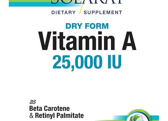 Vitamin A 4600mcg (25,000IU) 60ct