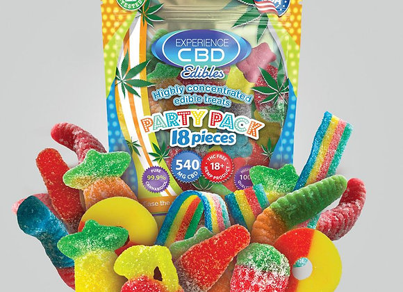 CBD Gummies 540mg pack