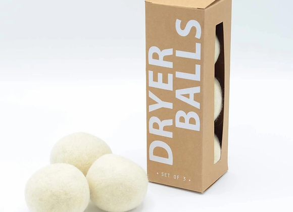 Wool Dryer Balls, 4ct