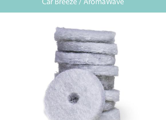 Car Breeze Car Diffuser Refill Pads, 10ct