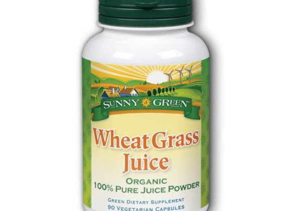 Wheat Grass Juice, Veg Cap - 1000mg