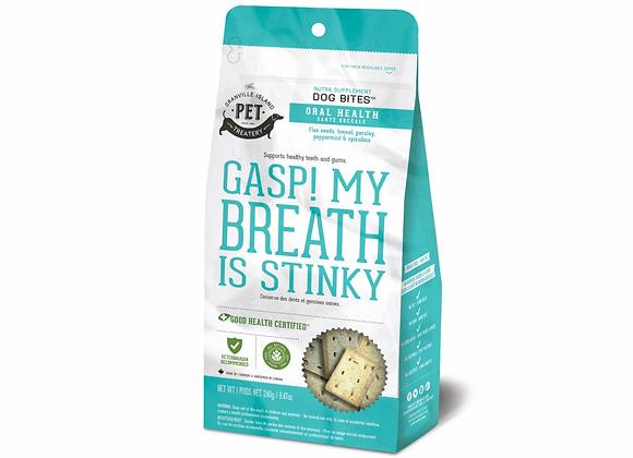GASP! My Breath Is Stinky NutraTreats Dog Treats, 8.47oz
