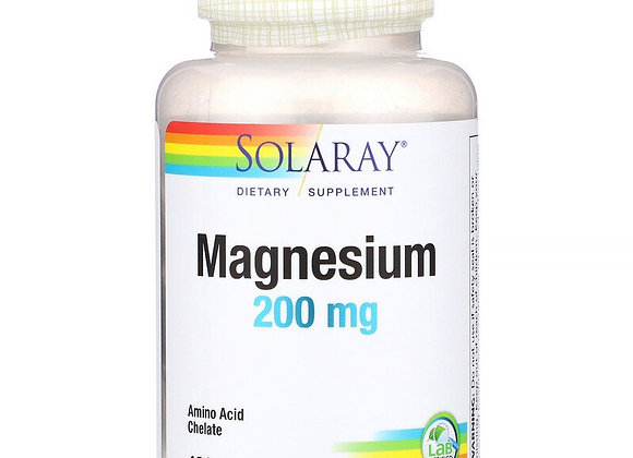 Magnesium 200mg, 100ct