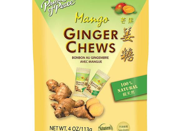Ginger Chews, Mango 3 oz