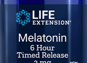 Melatonin 6hr Timed Release 3mg 60ct
