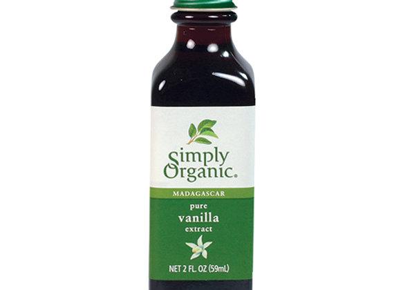 Vanilla Extract 2oz Simply Organic