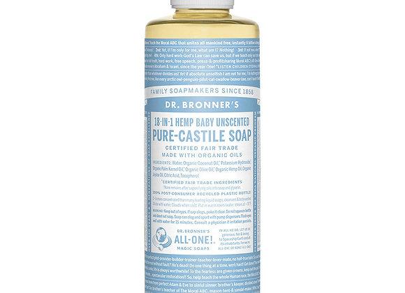 Castille Soap, Unscented 8oz