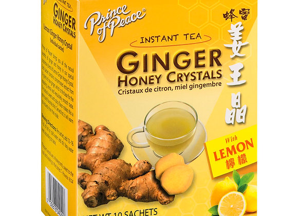 Lemon Ginger Honey Crystals 10ct