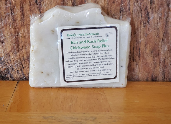 Chickweed Soap