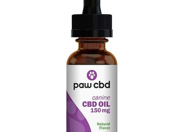 CBD Oil for Dogs 150mg Peanut Butter flavor