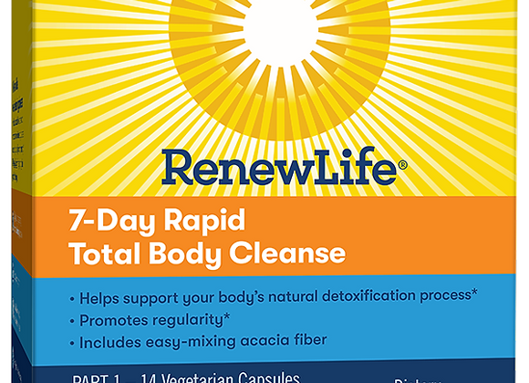 7 Day Rapid Total Body Cleanse