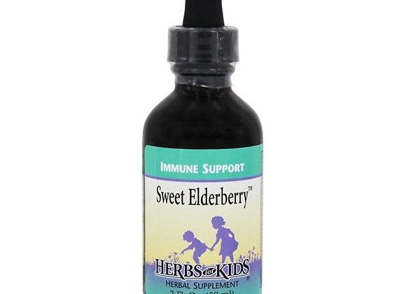 Children's Sweet Elderberry Drops, 2oz