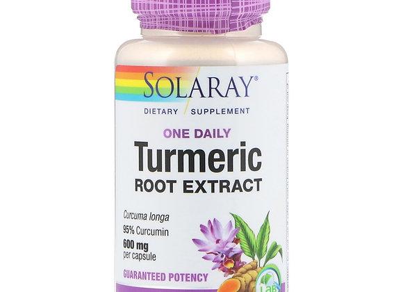Daily Turmeric 600mg, 30ct