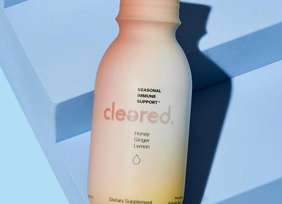 Cleared Liquid Shot 3.4oz