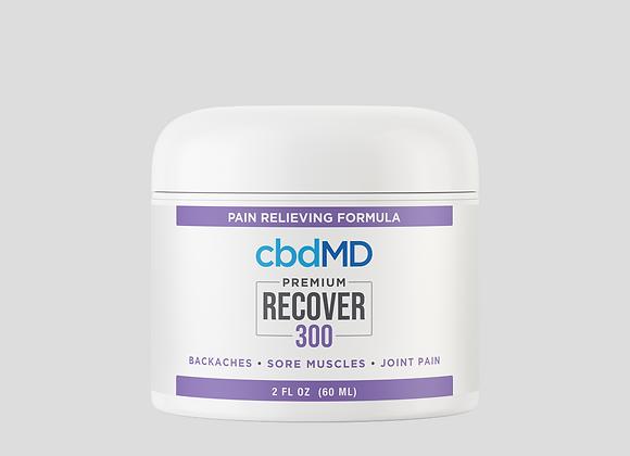 CBD Recover 300mg 2oz tub