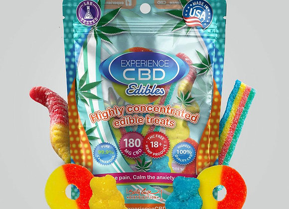 CBD Gummies 180mg pack