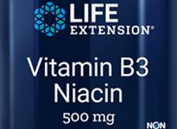 Vitamin B3 Niacin 500mg 100ct