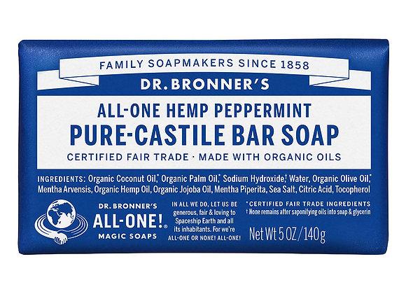 Peppermint Bar Soap, Dr Bronners