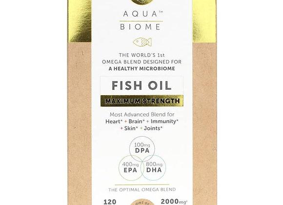 AquaBiome Fish Oil Max Strength 60ct