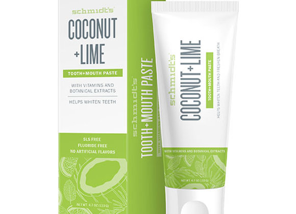 Coconut Lime Toothpaste