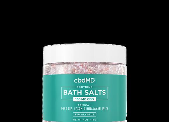 CBD Bath Salts Eucalyptus 100mg