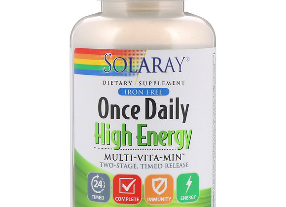 Once Daily High Energy Multivit, 120ct