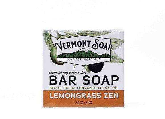 Lemongrass Zen Travel Bar Soap, .75oz