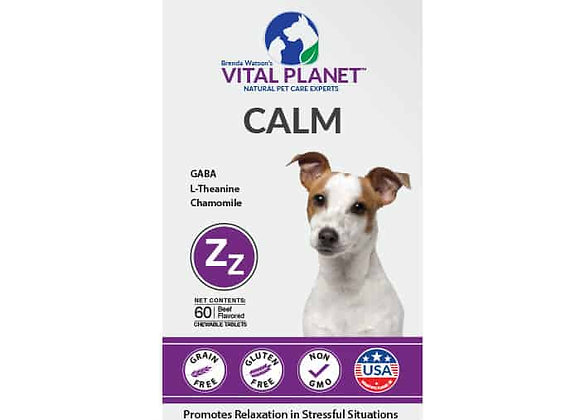 Calm Tabs for Dogs, 60ct, beef flavor