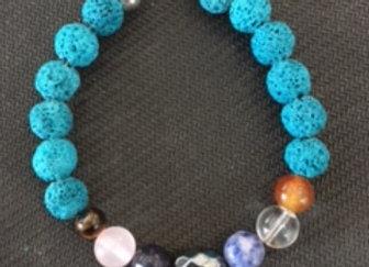 7 Chakra Stone Bracelet #4