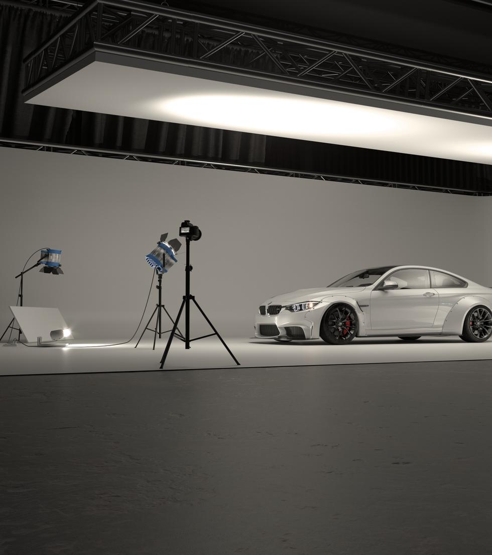 BMW M4 Enviroment Work in progress